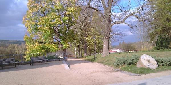 Aussichtsfläche an der Promenade
