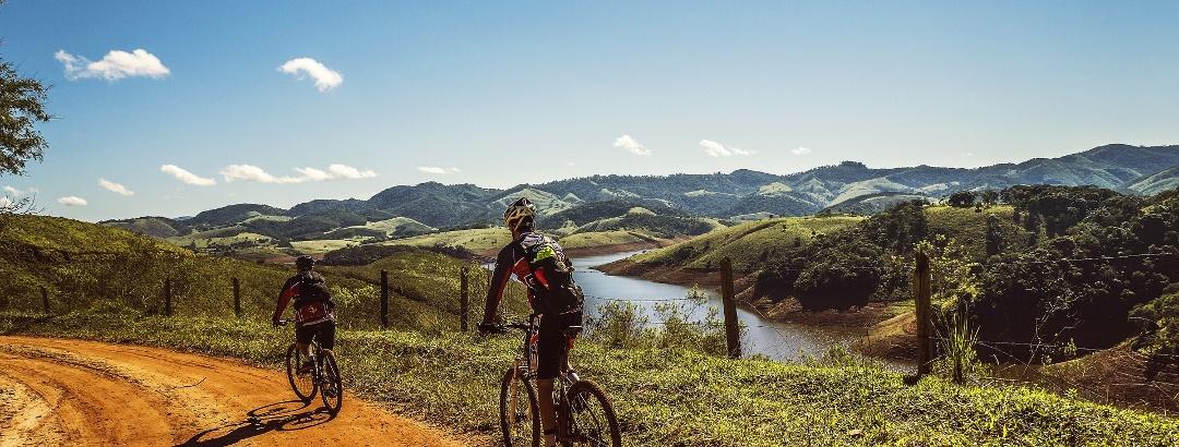 Mountainbike in Portugal