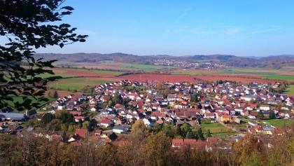 Münchweiler und Winnweiler von der Hohlsteinhütte