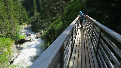 Brücke über den Flem.