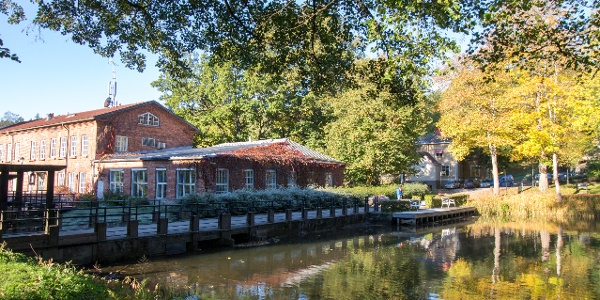 Fiskars village is a great place to explore an old iron works area