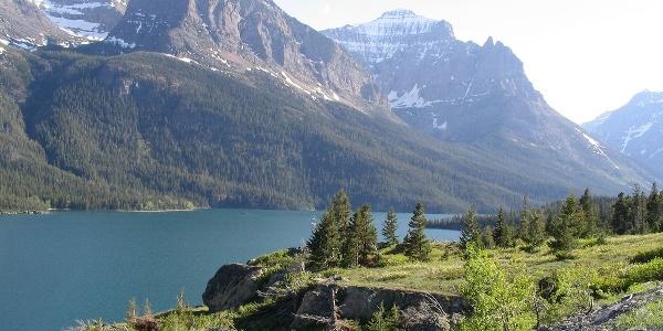 Ausblick auf St. Mary Lake