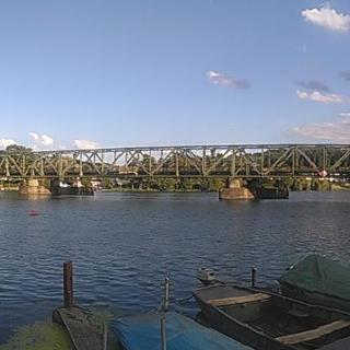 Alte Eisenbahnbrücke in Kupferdreh