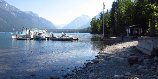 Lake McDonald Lodge Shoreline