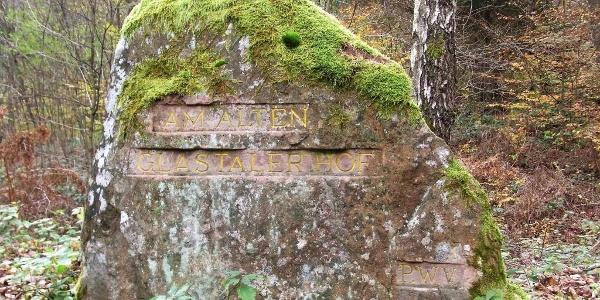 Ritterstein (Am alten Glastalerhof) Nr. 298