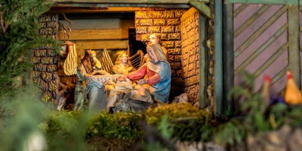 Weihnachtsberg in Brünlos