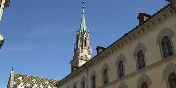 Im Klosterbezirk St. Gallen.