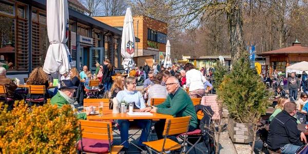 Gastronomie am Hermannsdenkmal - Terrasse