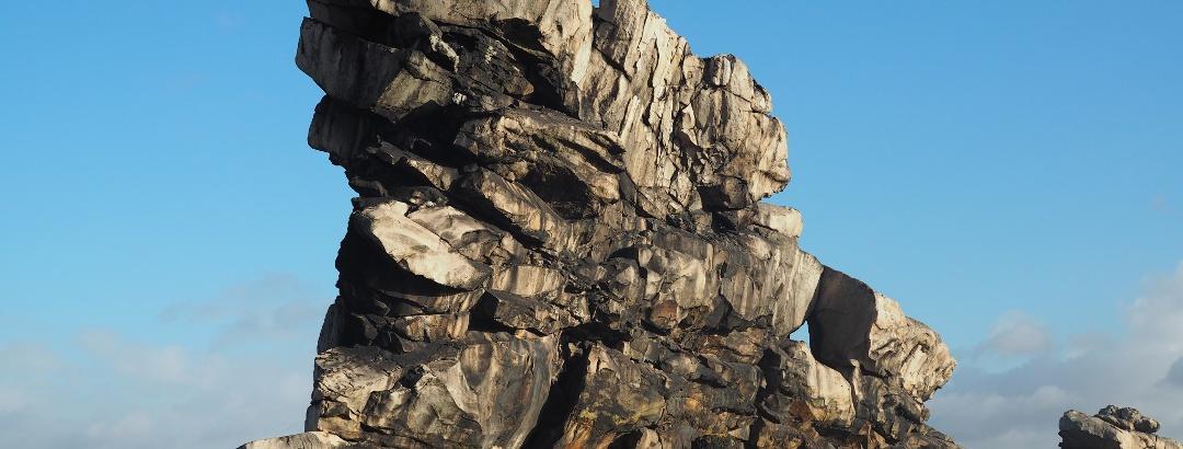 Rock formation Teufelsmauer