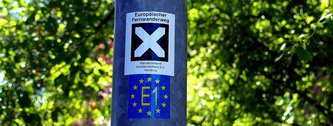 Europäischer Fernwanderweg E1 – deutscher Abschnitt von Flensburg nach Konstanz