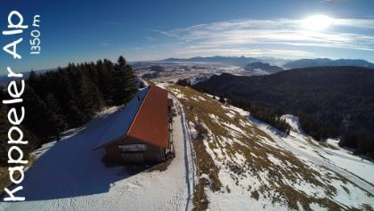 Winter auf der Kappeler Alp 1350 m