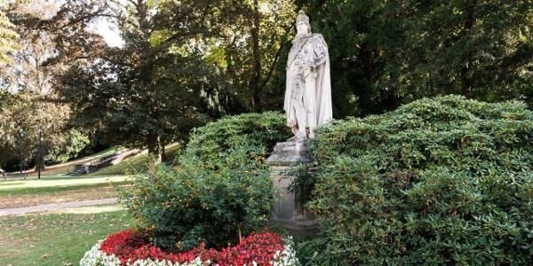 Sinzig -  Barbarossa Denkmal