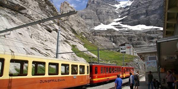 Station Eigergletscher.