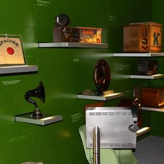 Im Museum für Kommunikation.