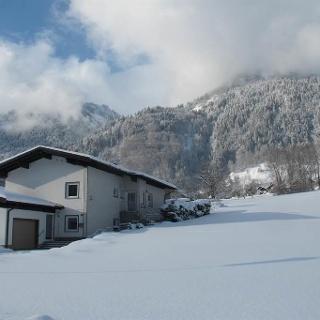 Haus Mangeng im Winter