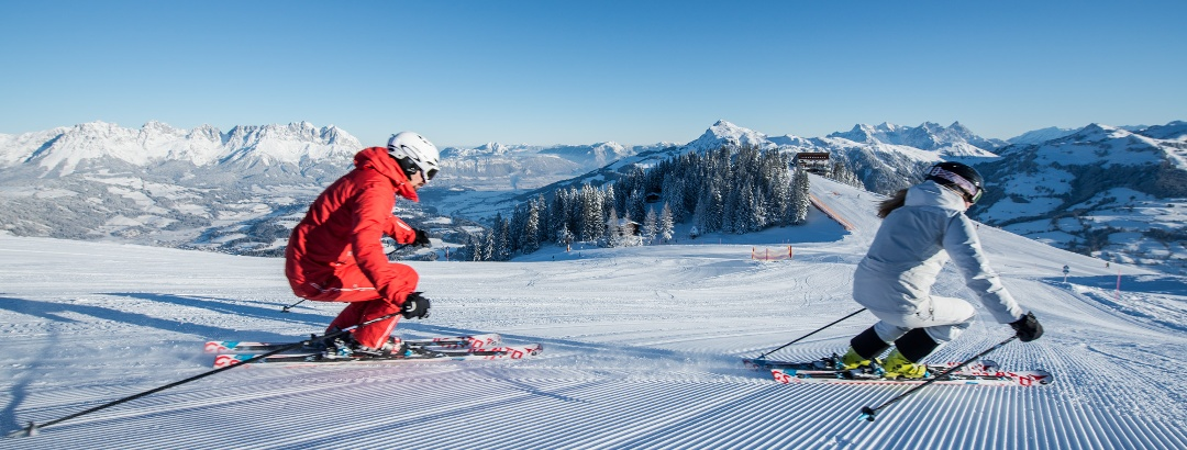 Skiing in Kitzbühel/Kirchberg