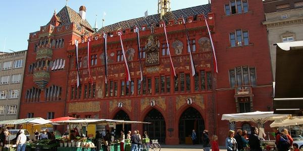Rathaus Basel.