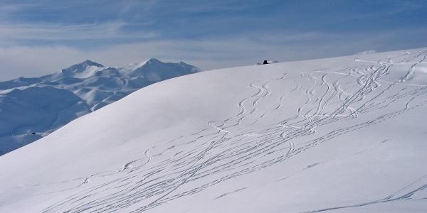 Skitour auf den Schafberg