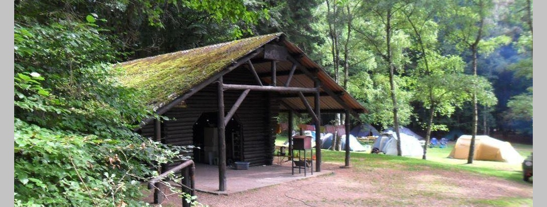 Hütte Jugendzeltplatz