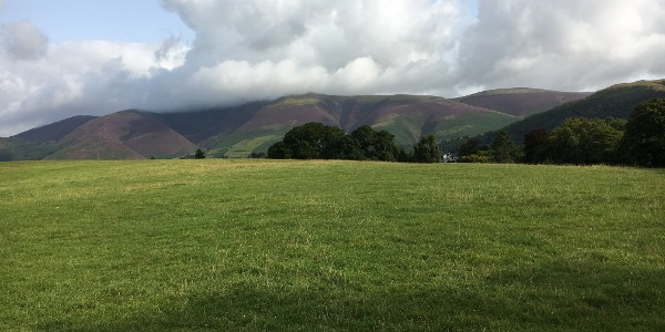 Views to the Coniston Fells near Coniston Water