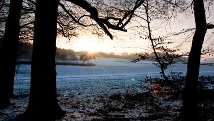 Auch der Winter ist schön im Nettetal