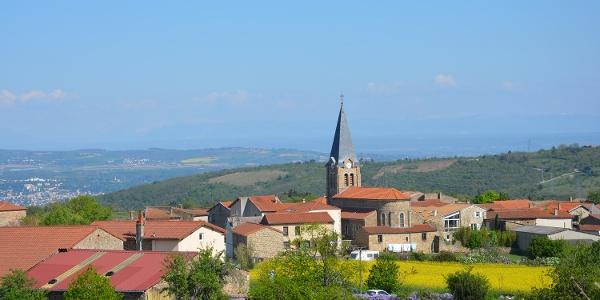 Le village de Bessey en avril 2015