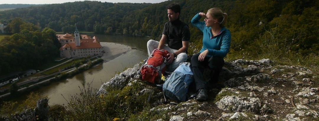 Aussichtspunkt beim Kloster Weltenburg
