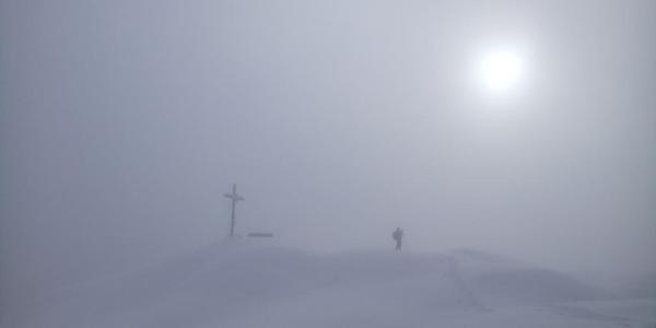 beim Gipfel