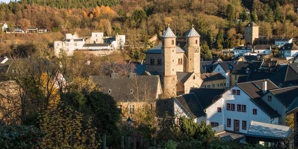 Blick auf Bad Münstereifel