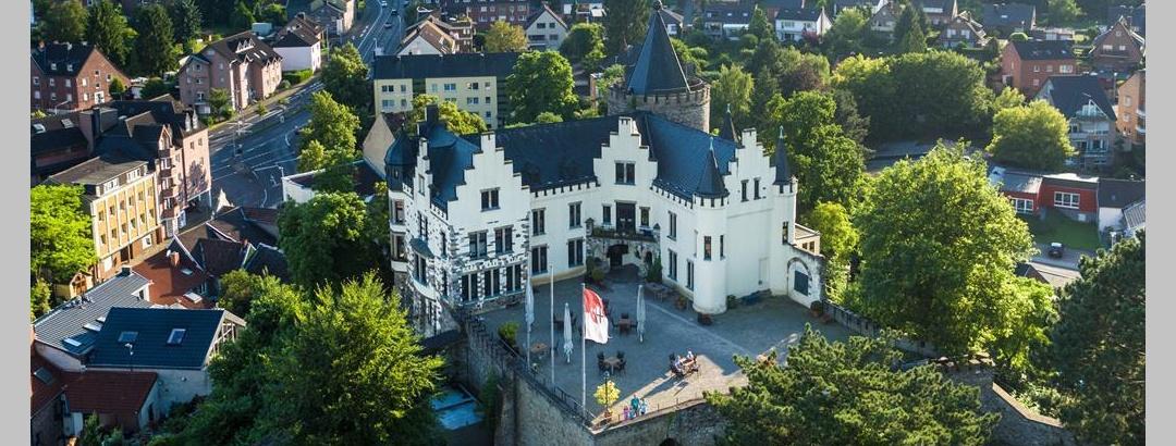 Luftbild Burg Rode