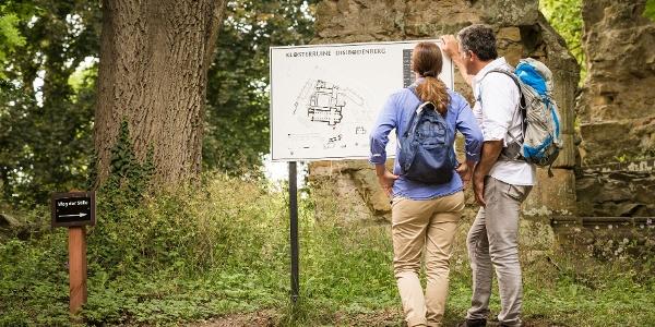 Besichtigung der Klosterruine Disibodenberg