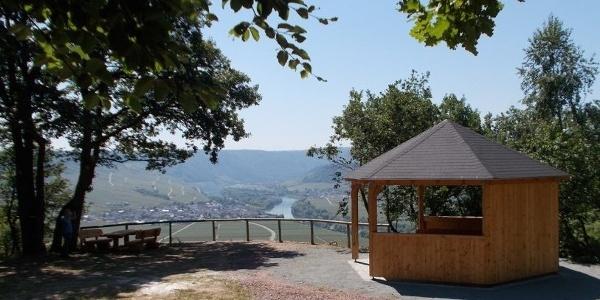 Schutzhütte an der Begegnungsstätte Thörnicher Ritsch