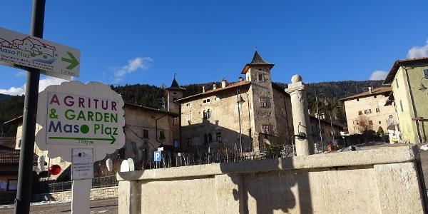 Punto di partenza al castello di Arsio