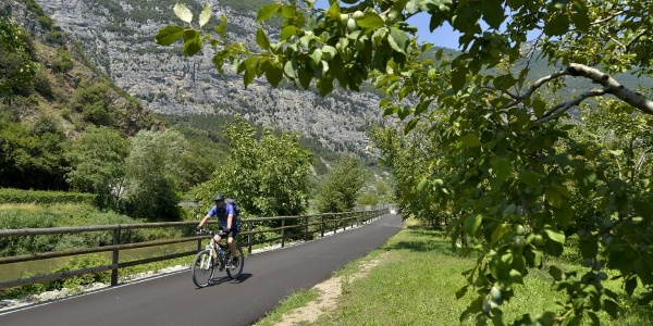 Cycling in the Sarca Valley