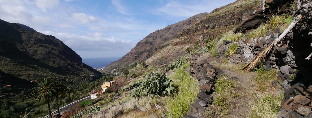 Blick auf das Valle Gran Rey