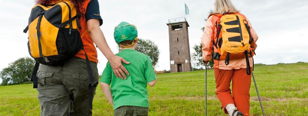 Ludwig Keller Turm - Aussichtsturm auf der Geißhöhe Dammbach
