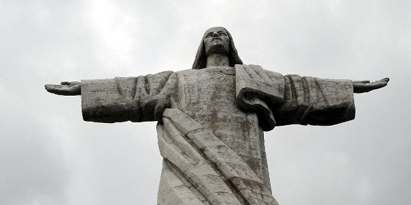 Christ the King statue of Madeira