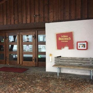 Defibrillator (AED) am Schlossbrauhaus Schwangau
