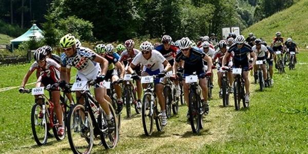 Bike-Rennen Goms
