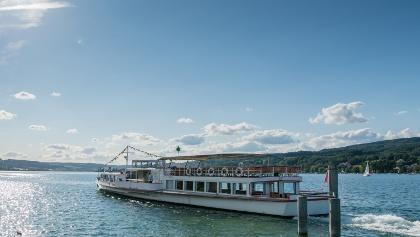 Schifffahrt auf dem Untersee bei Berlingen.