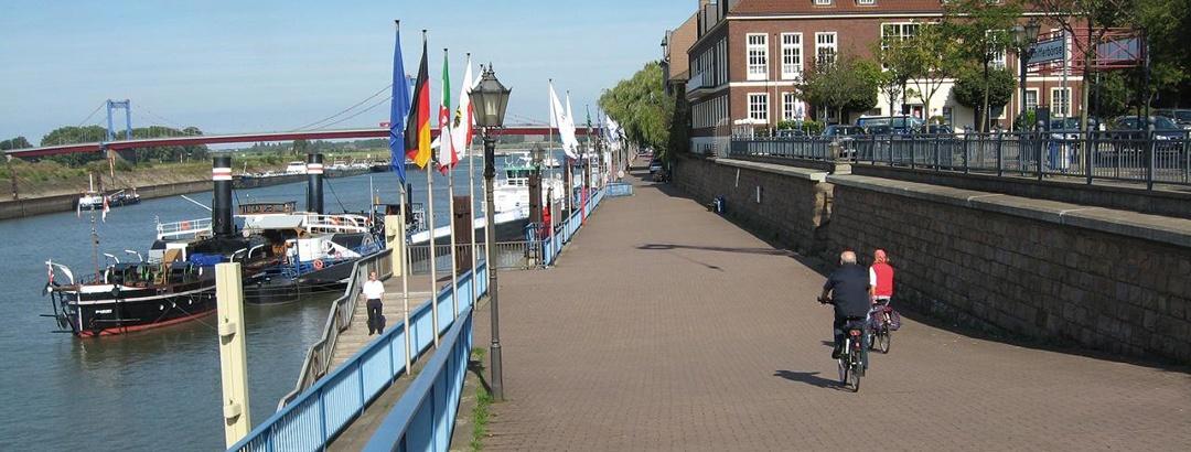 Promenade Duisburg Ruhrort