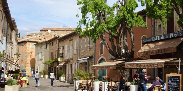 The Cafe de la Poste, Goult
