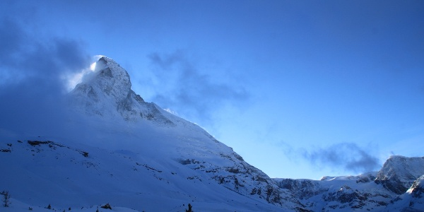 Winterwandern entlang der Matterhorn Nordwand