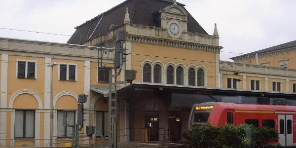 Ankunft am Hbf Neustadt/Weinstraße