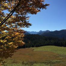Herbststimmung unterhalb der Rotwandalm