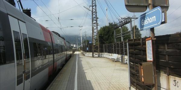 Regionalzüge bedienen täglich zweistündlich Gaishorn