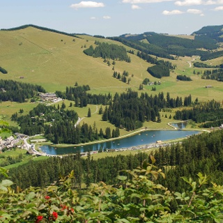 Blick auf den Teichalmsee Almenland (c) Franz Berghofer