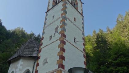 Maria im Graben in Vorderberg, Nordansicht