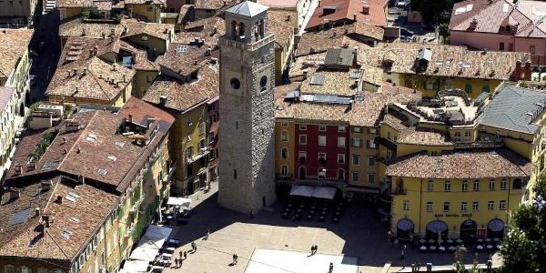 Piazza III Novembre in Riva del Garda
