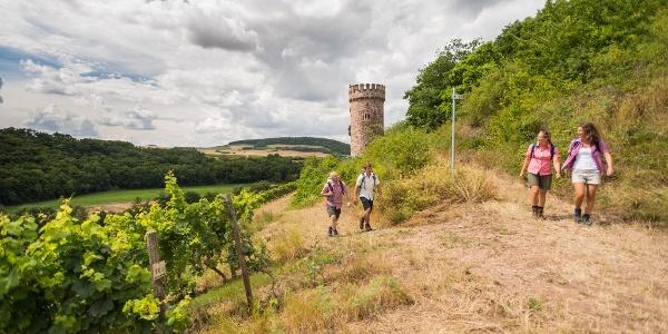 Wanderer am Ajaxturm
